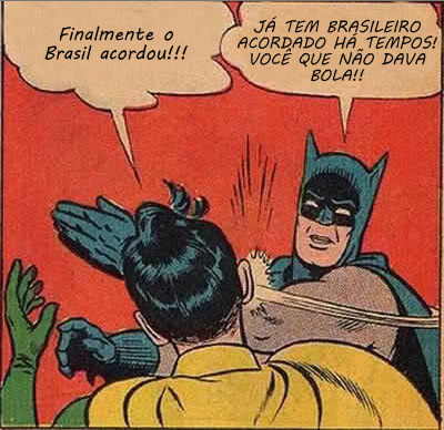 batman acordou